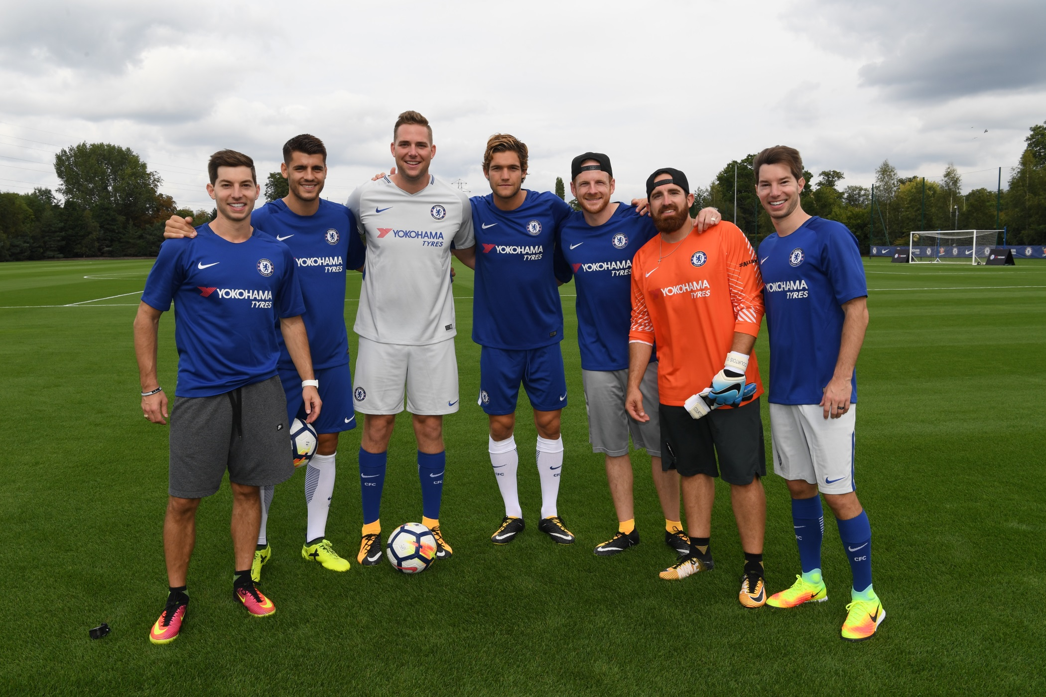 Yokohama and Chelsea FC Team Up with Dude Perfect on New Soccer Trick Shots Video